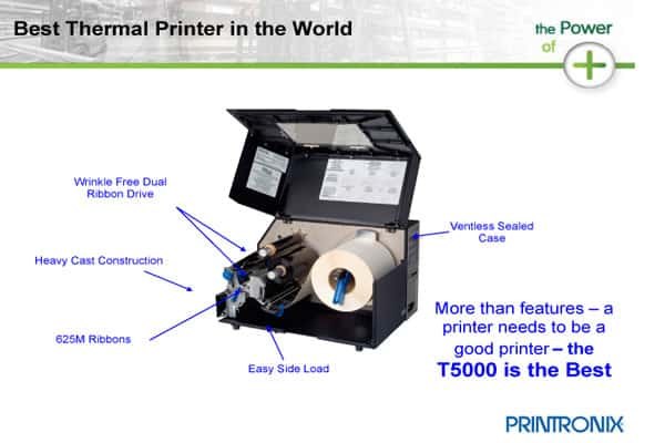 how to use a thermal printer